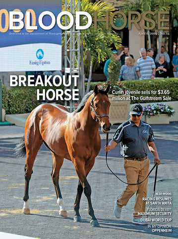 BloodHorse:  April 6, 2019 print