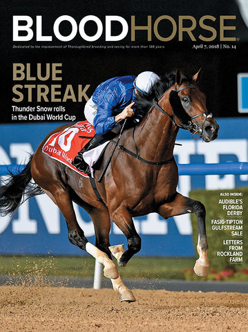 BloodHorse:  April 7, 2018 print