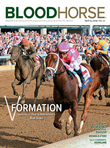 BloodHorse:  April 13, 2019 print