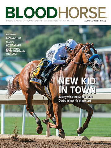 BloodHorse:  April 14, 2018 print