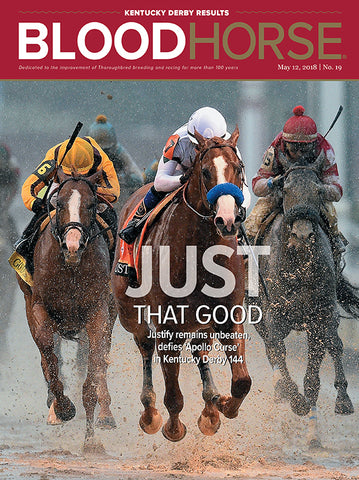 BloodHorse:  May 12, 2018 print