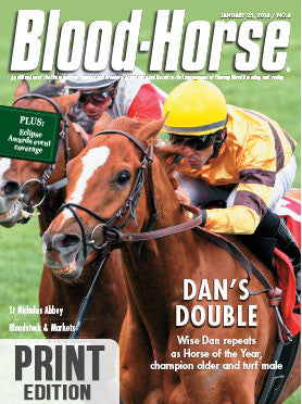 The Blood-Horse: Jan 25, 2014 Print