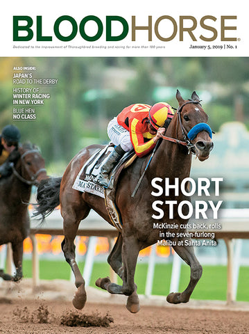 BloodHorse:  January 5, 2019 print