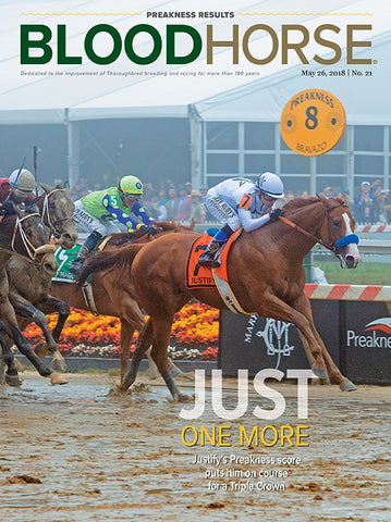 BloodHorse:  May 26, 2018 print