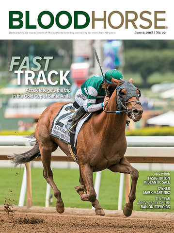 BloodHorse:  June 2, 2018 print