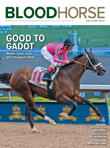 BloodHorse:  July 7, 2018 print