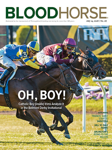 BloodHorse:  July 14, 2018 print