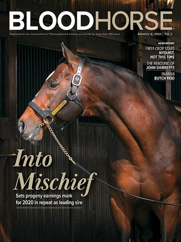 BloodHorse One-Year Subscription Print - International