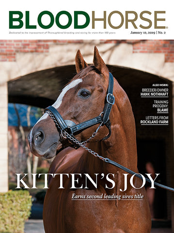 BloodHorse:  January 12, 2019 print