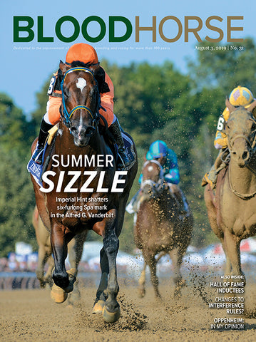 BloodHorse:  Aug 3, 2019 print