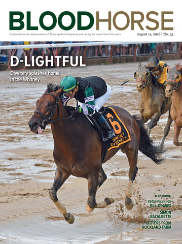BloodHorse:  August 11, 2018 print