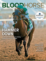 BloodHorse:  August 25, 2018 print