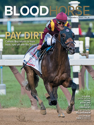 BloodHorse:  September 1, 2018 print