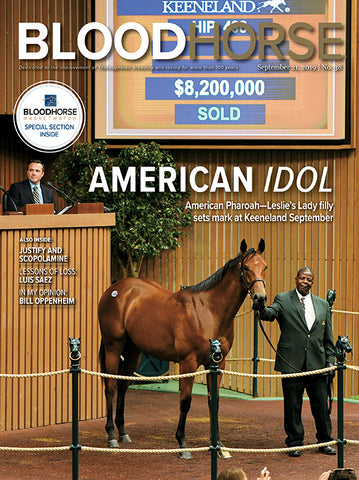 BloodHorse:  Sept 21, 2019 print