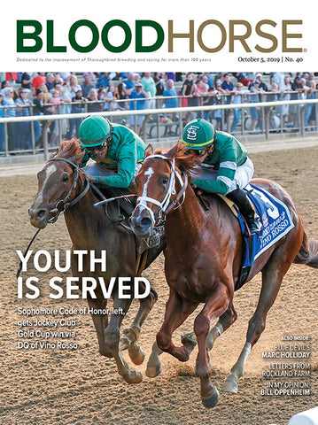 BloodHorse:  October 5, 2019 print