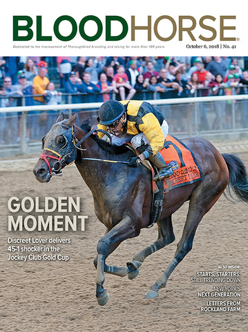 BloodHorse:  October 6, 2018 print