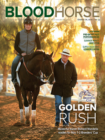 BloodHorse:  October 26, 2019 print