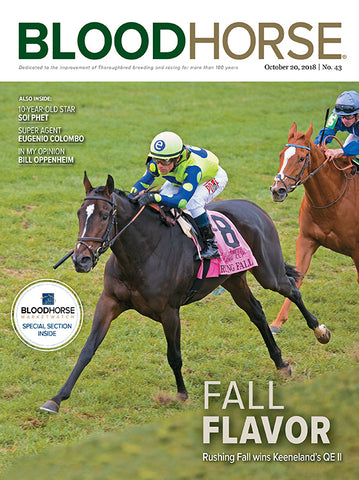 BloodHorse:  October 20, 2018 print