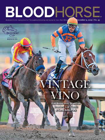 BloodHorse:  November 9, 2019 print
