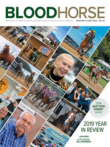 BloodHorse:  December 21/28, 2019 print