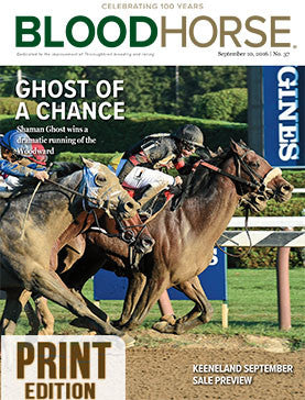 BloodHorse: September 10, 2016 print
