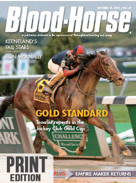 Blood-Horse: October 10, 2015 Print