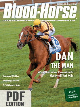 The Blood-Horse: Oct 11, 2014 PDF