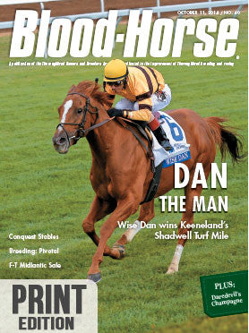 The Blood-Horse: Oct 11, 2014 Print