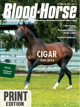 The Blood-Horse: Oct 18, 2014 Print