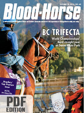 The Blood-Horse: Oct 25, 2014 PDF
