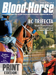 The Blood-Horse: Oct 25, 2014 Print