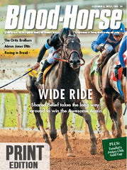 The Blood-Horse: Oct 4, 2014 Print