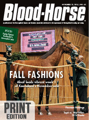 The Blood-Horse: Nov 15, 2014 Print