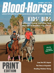 The Blood-Horse: Nov 1, 2014 Print