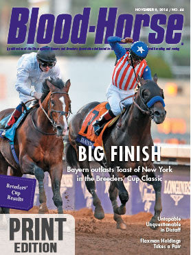 The Blood-Horse: Nov 8, 2014 Print