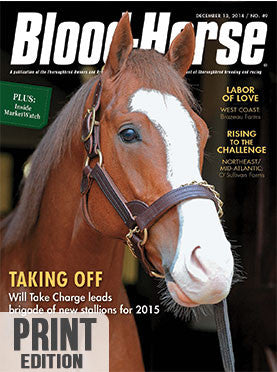 The Blood-Horse: Dec 13, 2014 Print