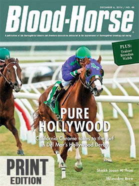 The Blood-Horse: Dec 6, 2014 Print
