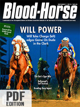 The Blood-Horse: Dec 7, 2013 PDF