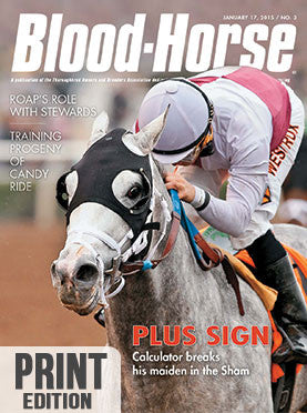 The Blood-Horse: Jan 17, 2015 Print
