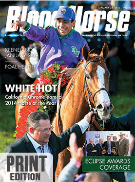 The Blood-Horse: Jan 24, 2015 Print