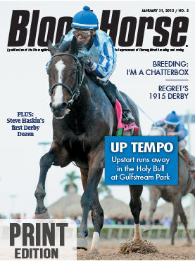The Blood-Horse: Jan 31, 2015 Print
