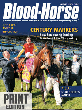 The Blood-Horse: Jan 3, 2015 Print