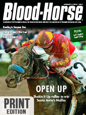 The Blood-Horse: Jan 4, 2014 Print