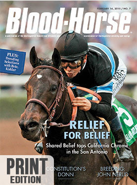 The Blood-Horse: Feb 14, 2015 Print