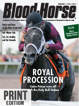 The Blood-Horse: Feb 1, 2014 Print