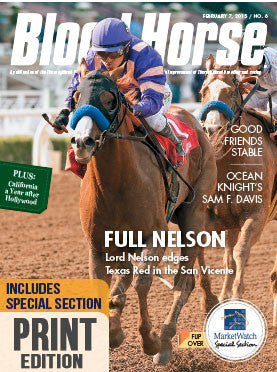 The Blood-Horse: Feb 7, 2015 Print