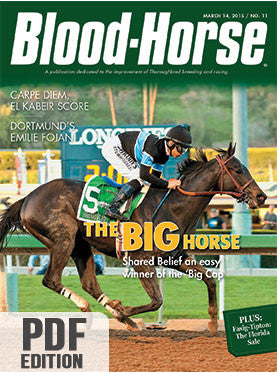 The Blood-Horse: Mar 14, 2015 PDF