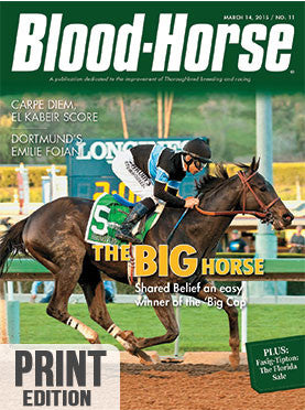 The Blood-Horse: Mar 14, 2015 Print
