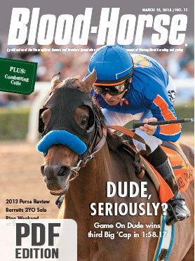 The Blood-Horse: Mar 15, 2014 PDF