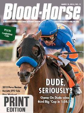 The Blood-Horse: Mar 15, 2014 Print